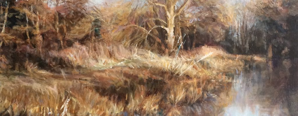 Suffolk Trees, Sarah Spencer, Oil, 21 x 26 inches, October 2014