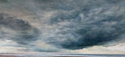 Holkham, Large Sea and Sky (60cm x 130cm)