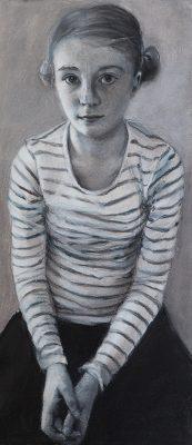 Phoebe, drawing (38cm x 18cm)