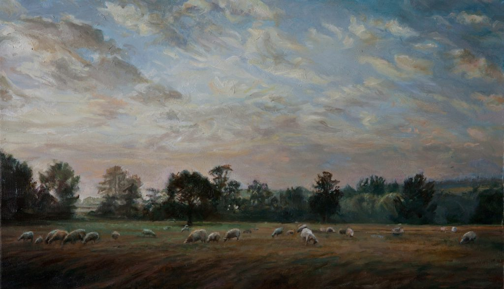 11-suffolk-sheep-30-x-40-cm