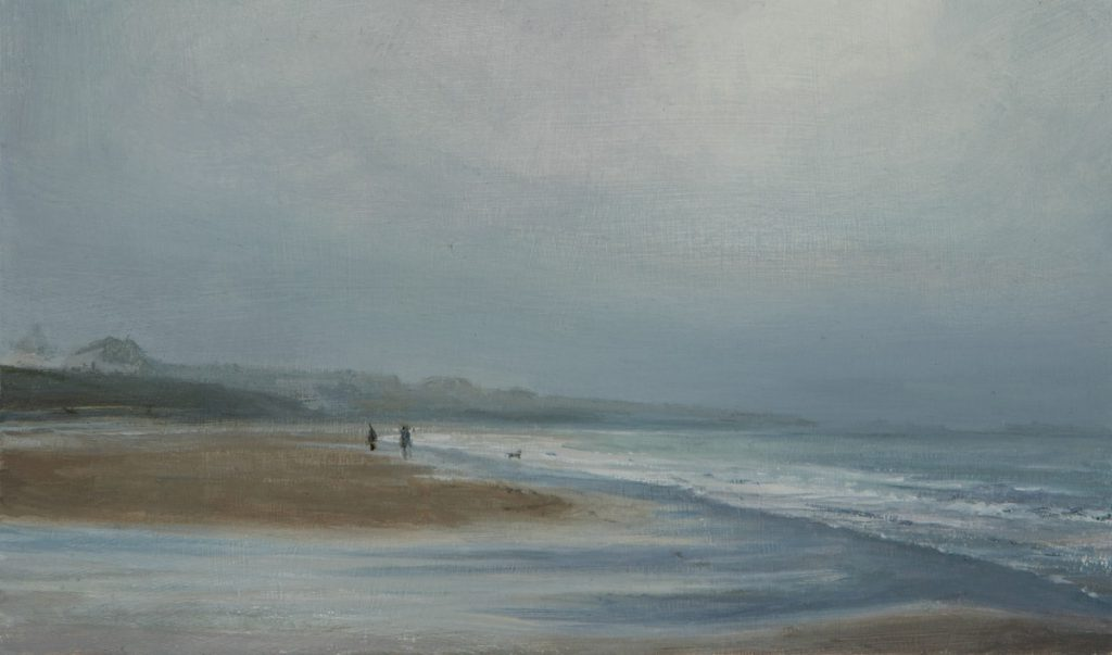 Trevose, oil on board, (27 x 36 cms)